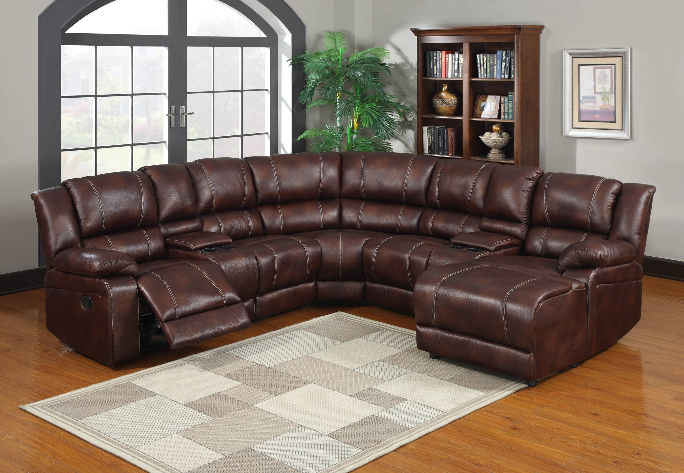 Sectional Sofas With Recliners And Cup Holders - Tourdecarroll throughout Curved Sectional Sofa With Recliner (Image 21 of 30)