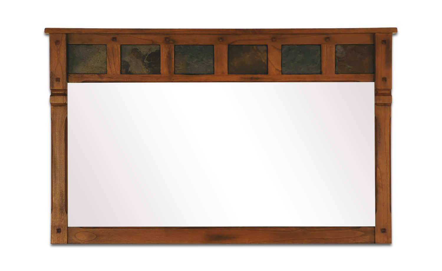 Sedona Rustic Oak Mirror | Hom Furniture | Furniture Stores In throughout Rustic Oak Mirrors (Image 22 of 25)
