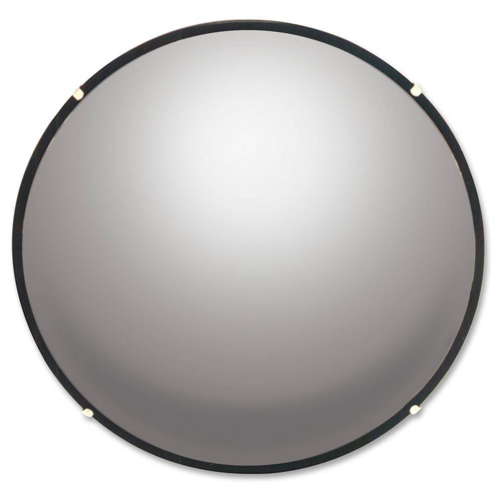 See All Round Glass Convex Mirror-Seen12 - The Home Depot within Black Convex Mirrors (Image 20 of 25)
