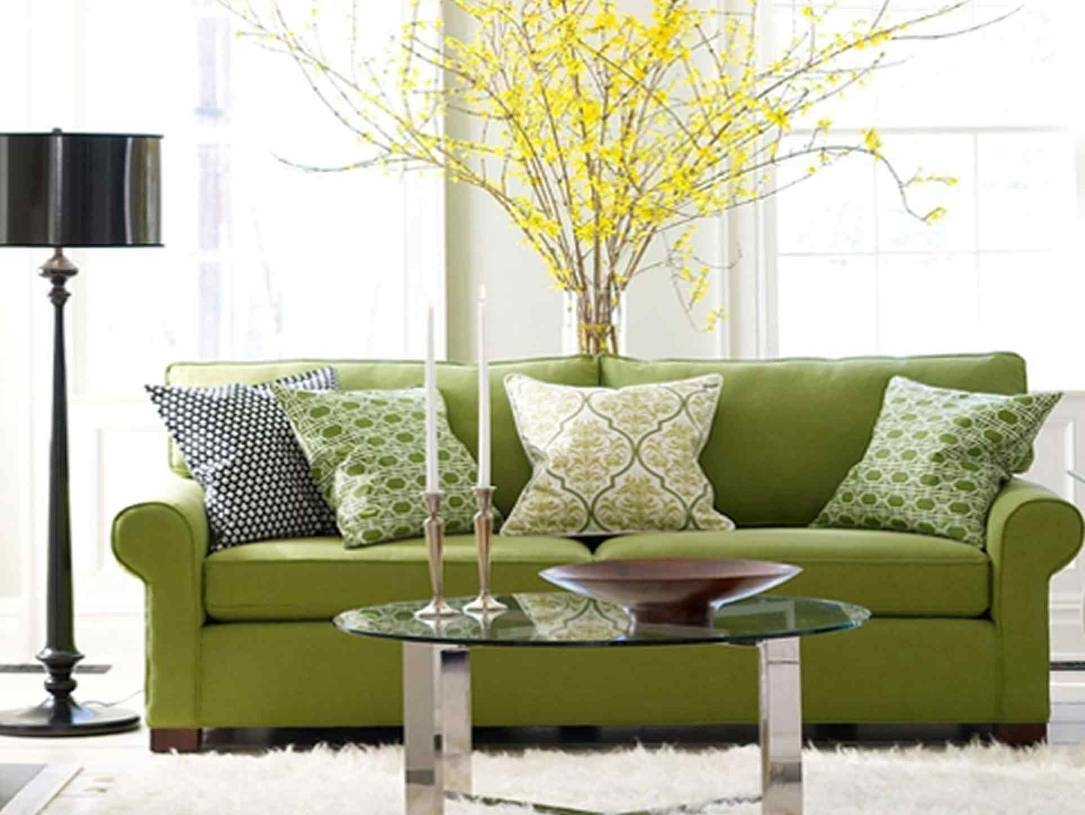 Selecting The Dressage Cushions For Sofa Or Chairs with Green Sofa Chairs (Image 25 of 30)