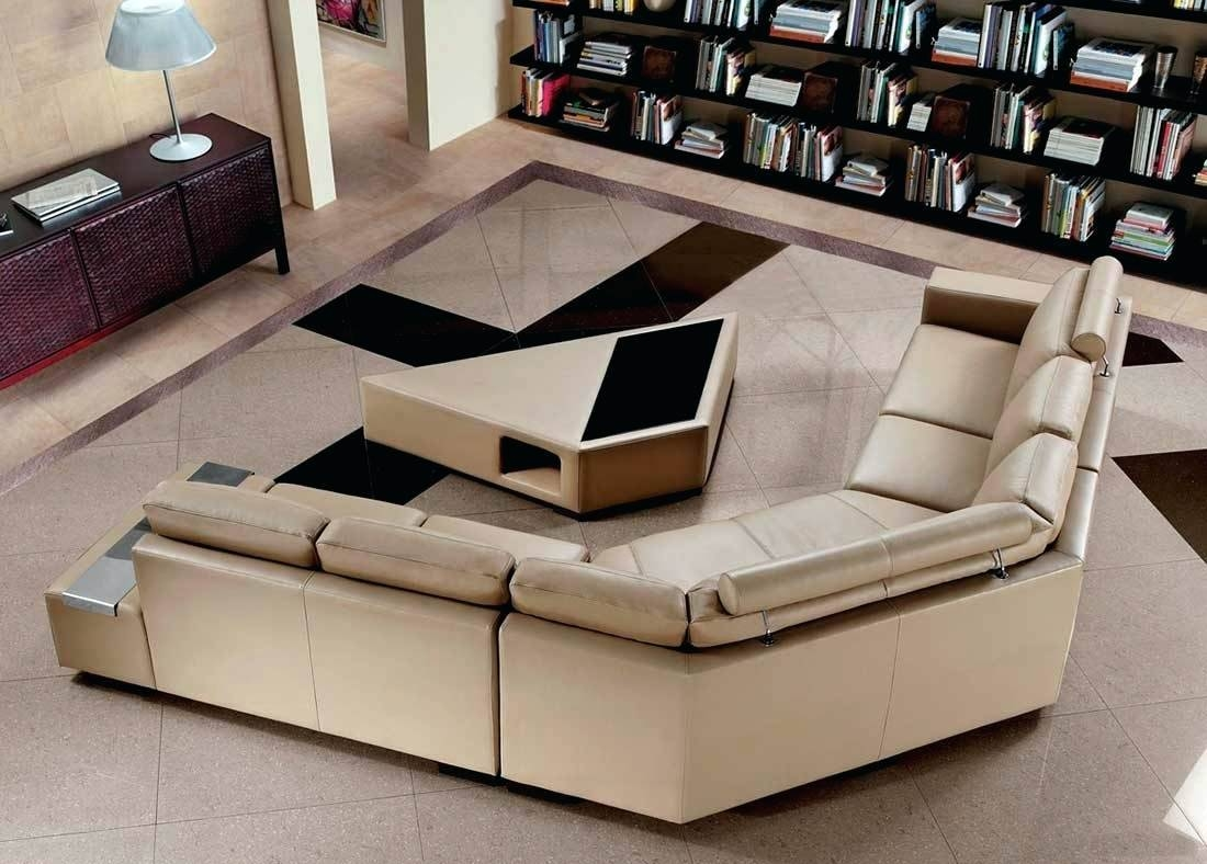 Semi Aniline Leather Sofas - Leather Sectional Sofa for Aniline Leather Sofas (Image 26 of 30)