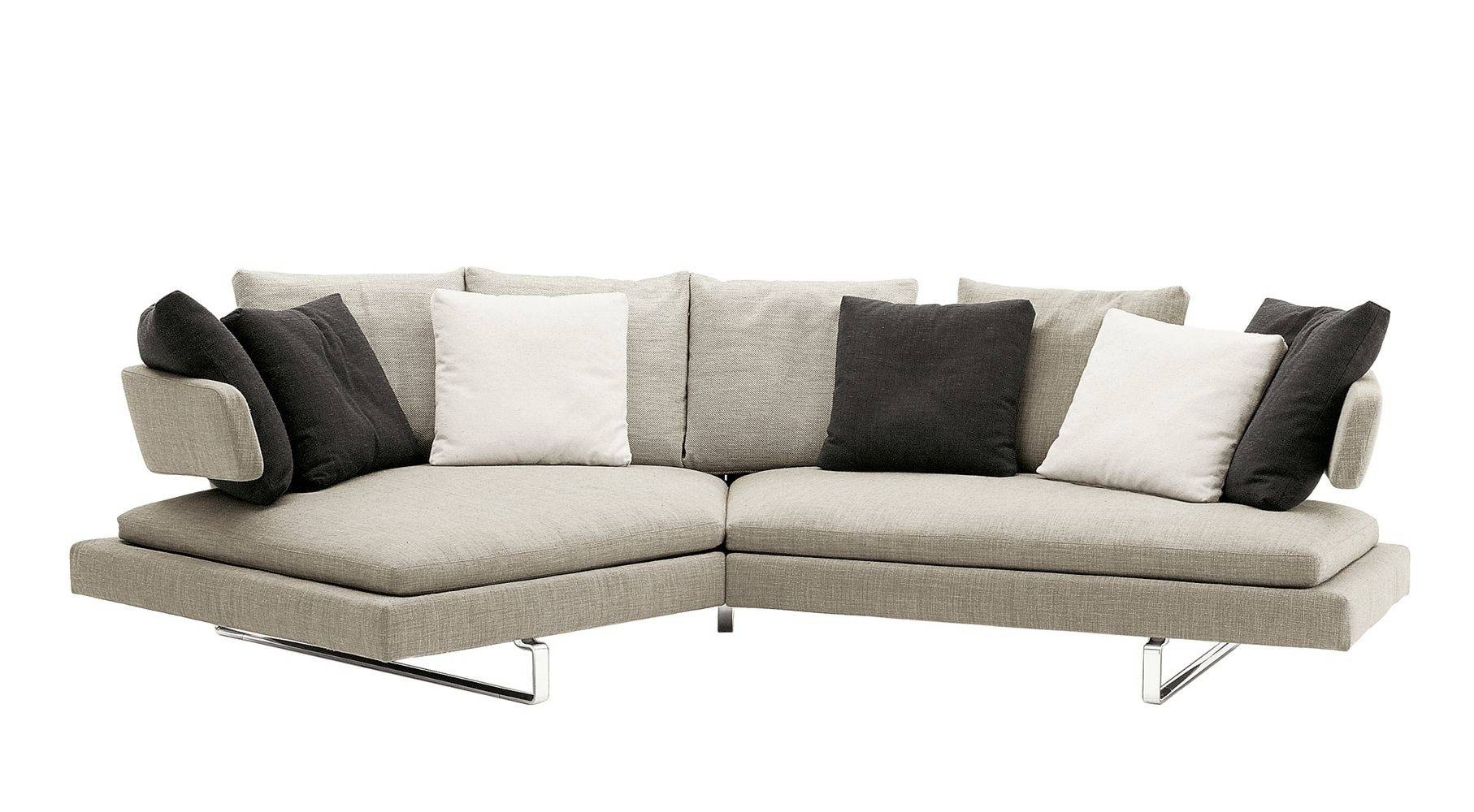 Semicircular Sofa / Contemporary / Leather / Fabric - Arne - B&b throughout Semicircular Sofa (Image 20 of 30)