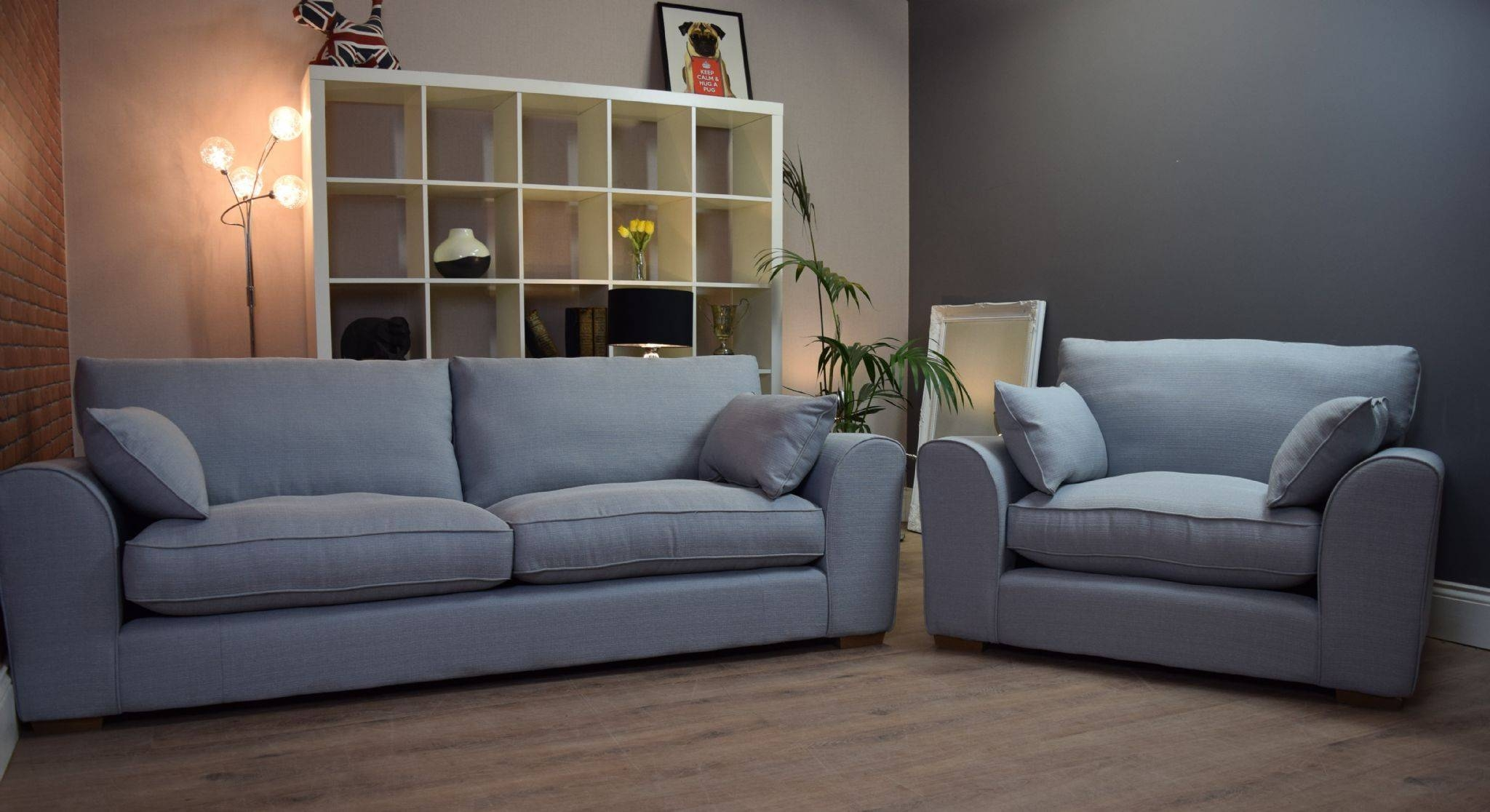 Best 30 of 3 Seater Sofa and Cuddle Chairs