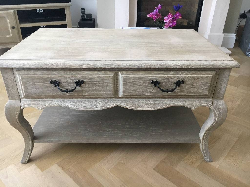 Shabby Chic Coffee Table And Tv Unit Set, Dunelm Amelie | In inside Coffee Table And Tv Unit Sets (Image 25 of 30)