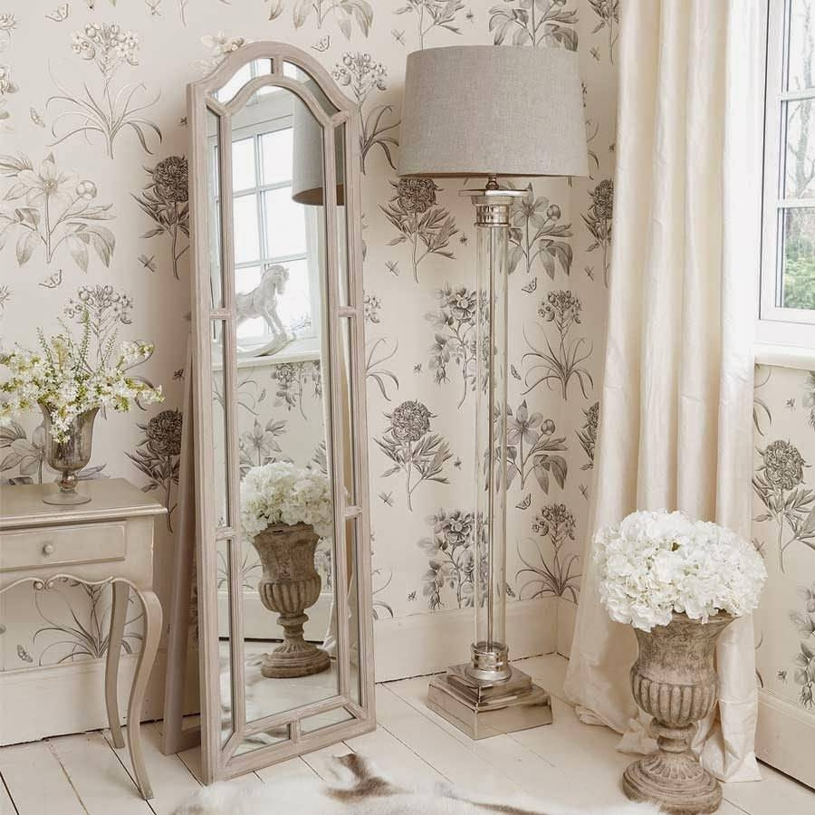 Shabby Chic Floor Mirror 147 Stunning Decor With Extra Large within Shabby Chic Window Mirrors (Image 18 of 25)
