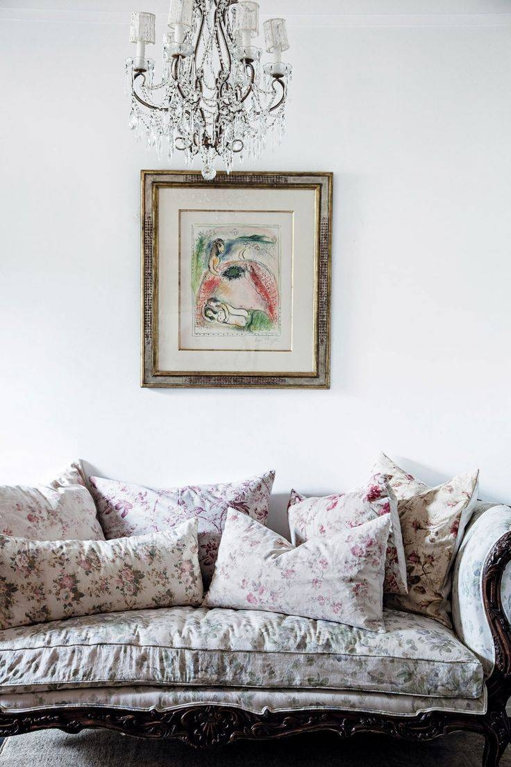 Shabby Chic Rachel Sofa Surprising Living Room Chintz Fabric Linen with Chintz Fabric Sofas (Image 27 of 30)