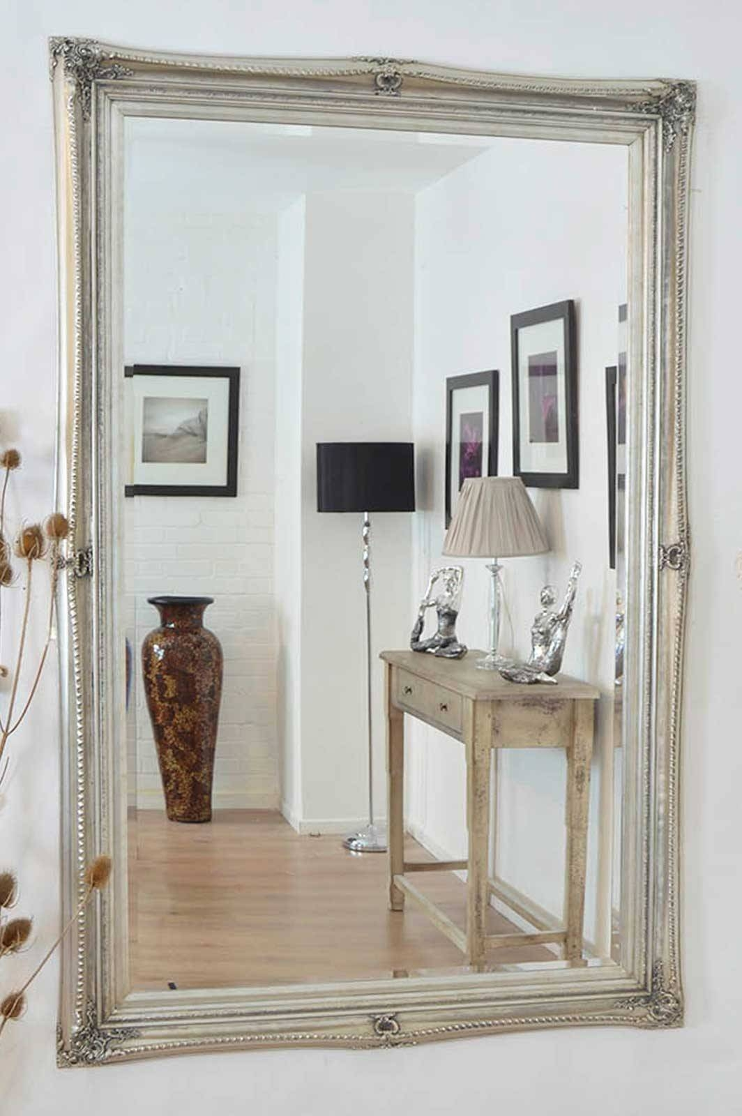 Shabby Chic Wall Mirror 40 Nice Decorating With Vintage Shabby for Shabby Chic Full Length Mirrors (Image 23 of 25)