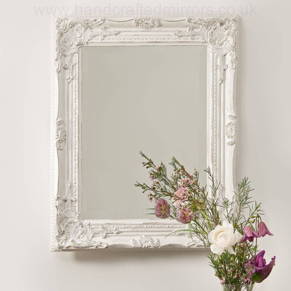Shabby Chic Wall Mirror 88 Stunning Decor With Large Antique Within Large Vintage Mirrors (View 22 of 25)