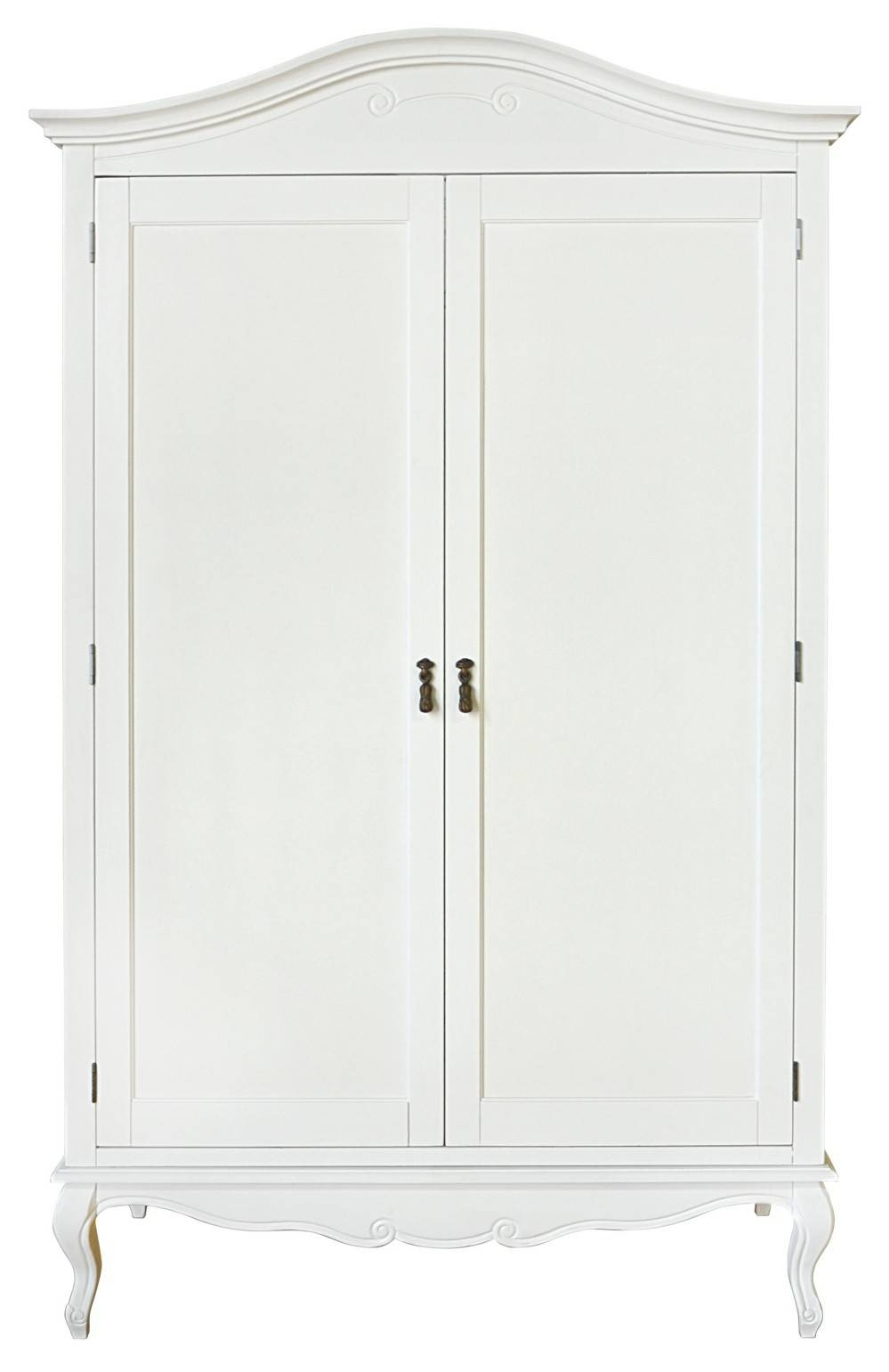 Shabby Chic White Double Wardrobe | Bedroom Furniture Direct Pertaining To Shabby Chic White Wardrobes (View 12 of 15)