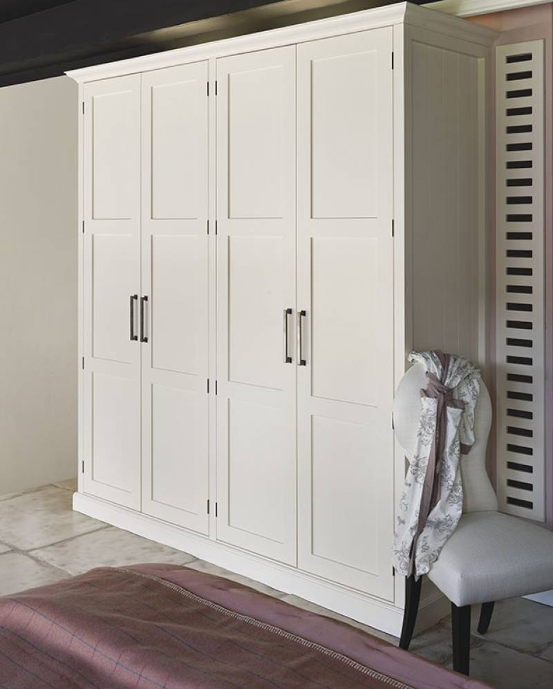 Shaker Style Bedroom Wardrobes & Furniture regarding Country Style Wardrobes (Image 11 of 15)