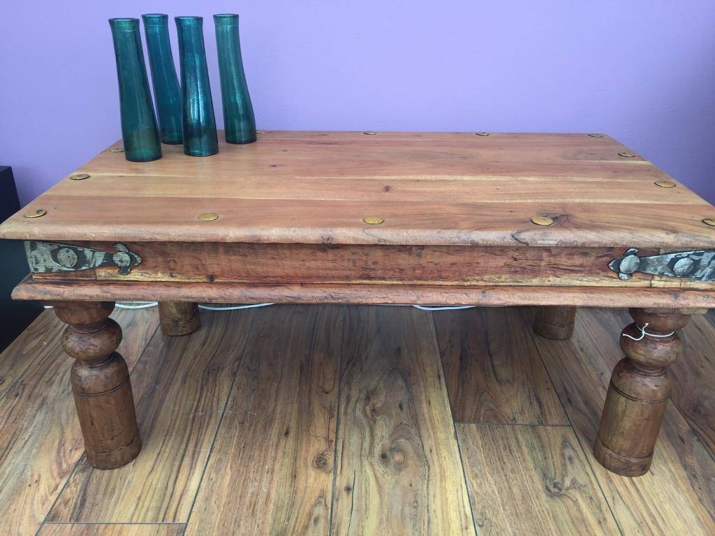 Sheesham Coffee Table | In Ellesmere Port, Cheshire | Gumtree intended for Sheesham Coffee Tables (Image 21 of 30)