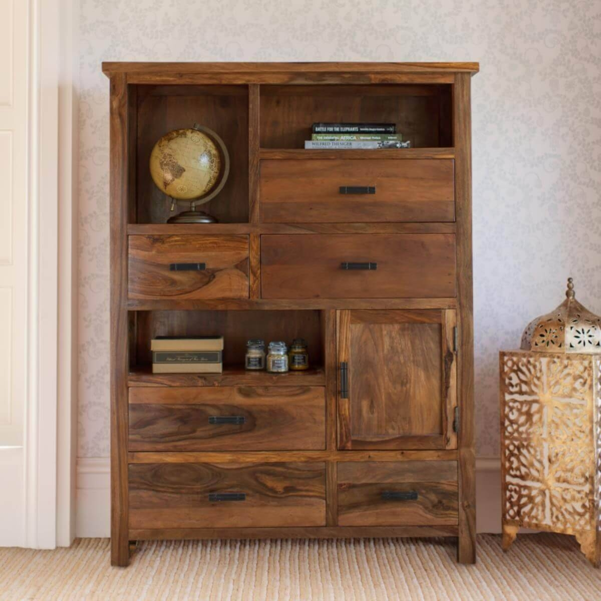 Sheesham Sideboard Units – The Furniture Co within Sheesham Sideboards (Image 27 of 30)