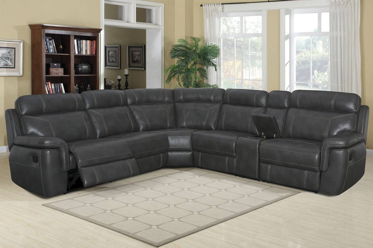 Sheldon 6-Piece Sectional with 6 Piece Leather Sectional Sofa (Image 25 of 30)