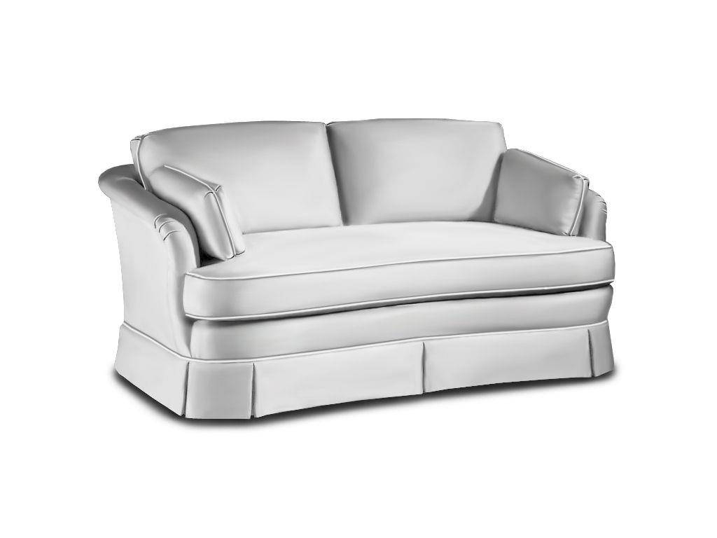 Sherrill Living Room One Cushion Sofa 2212L - Sherrill Furniture inside One Cushion Sofas (Image 21 of 30)