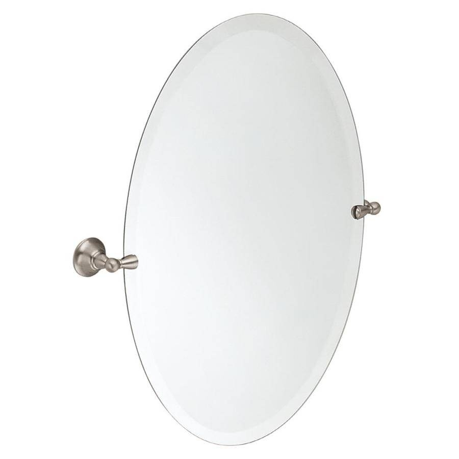 Shop Bathroom Mirrors At Lowes for White Oval Bathroom Mirrors (Image 24 of 25)