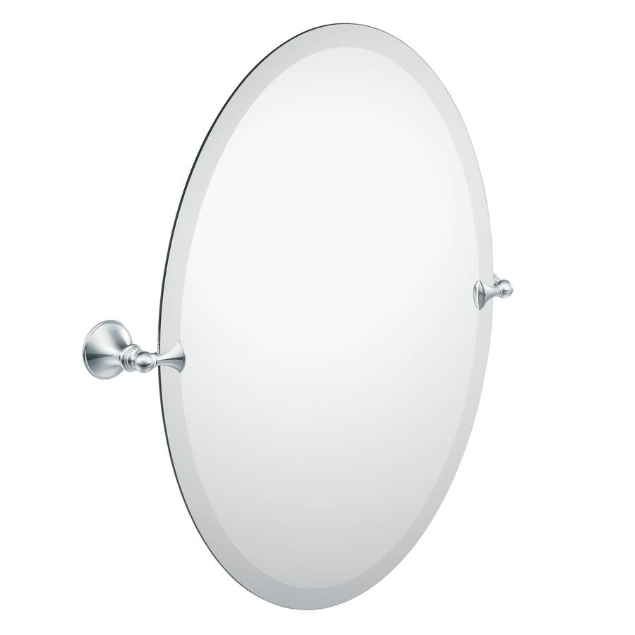 Shop Bathroom Mirrors At Lowes regarding Beveled Edge Oval Mirrors (Image 17 of 25)