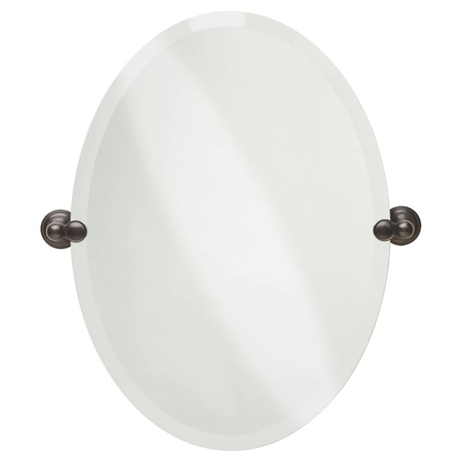 Shop Bathroom Mirrors At Lowes within Beveled Edge Oval Mirrors (Image 18 of 25)