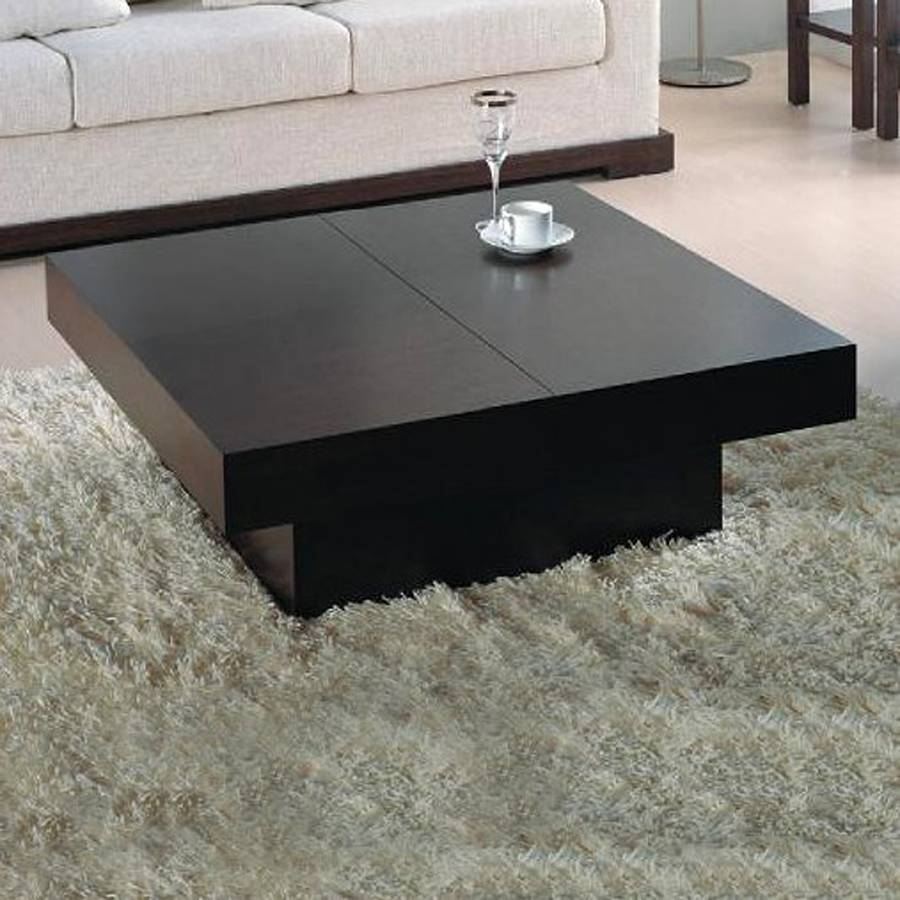 Shop Beverly Hills Furniture Nile Oak Coffee Table At Lowes with Oak Square Coffee Tables (Image 27 of 30)