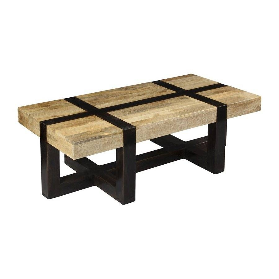 Shop Coast To Coast Tahoe Natural Mango Coffee Table At Lowes within Mango Coffee Tables (Image 29 of 30)