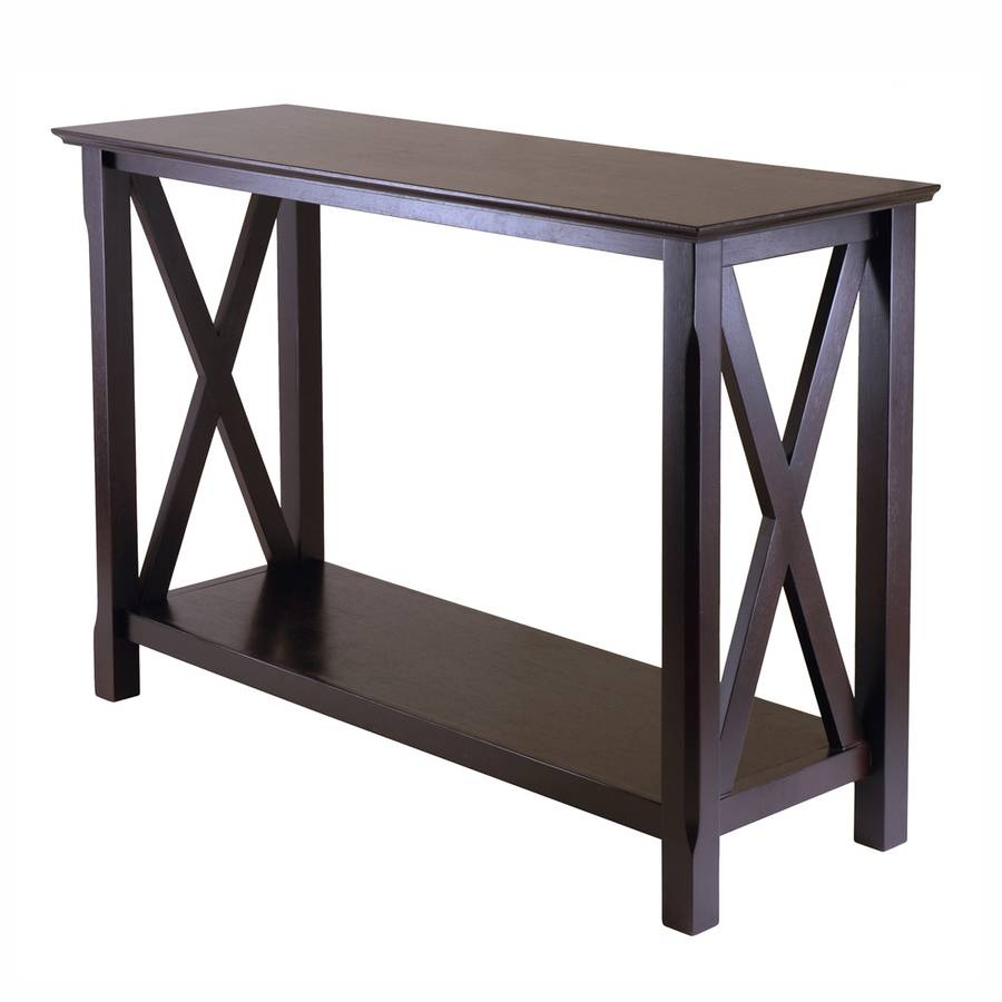 Shop Console Tables At Lowes inside Sofa Back Console (Image 18 of 30)