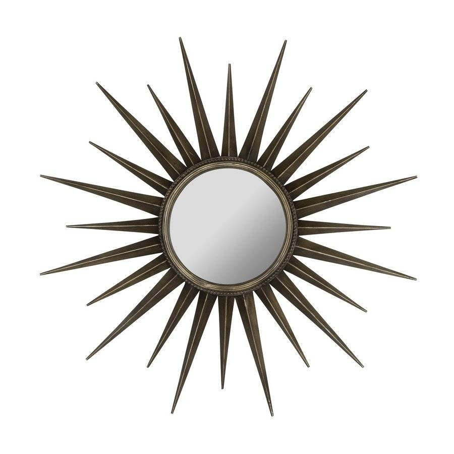 Shop Cooper Classics Remi 39-In X 39-In Bronze Beveled Round inside Bronze Starburst Mirrors (Image 23 of 25)