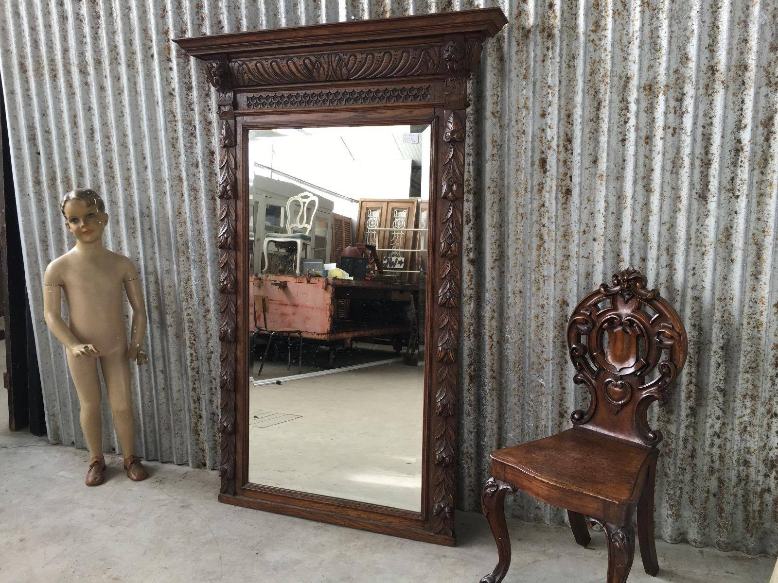 Shop Fittings - Burbri for Giant Antique Mirrors (Image 23 of 25)