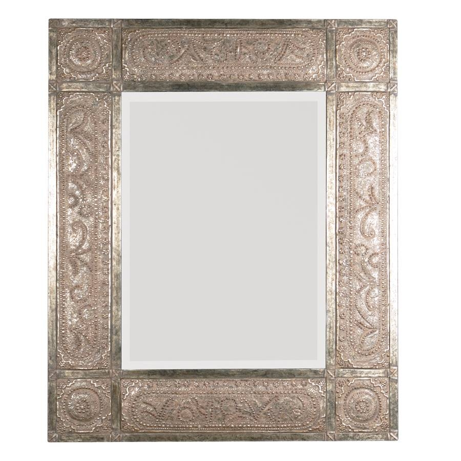 Shop Global Direct Heavily Distressed Golden-Champagne Leaf regarding Champagne Wall Mirrors (Image 23 of 25)