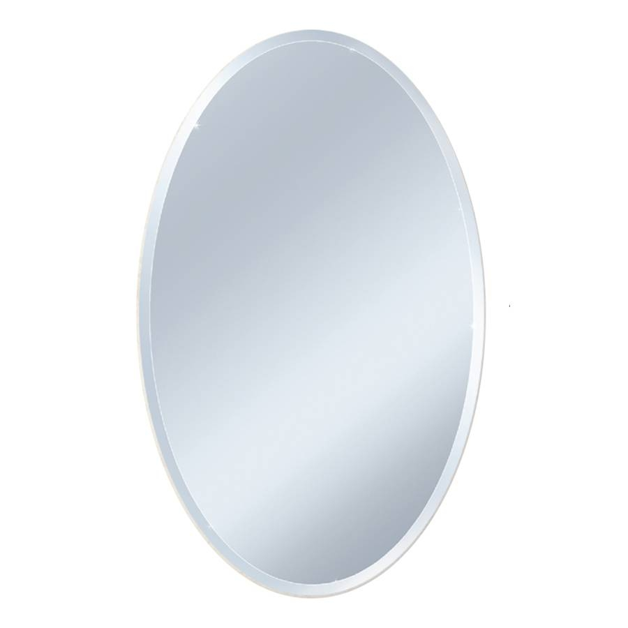 Shop Mirrors & Mirror Accessories At Lowes In Oval Mirrors For Walls (View 24 of 25)