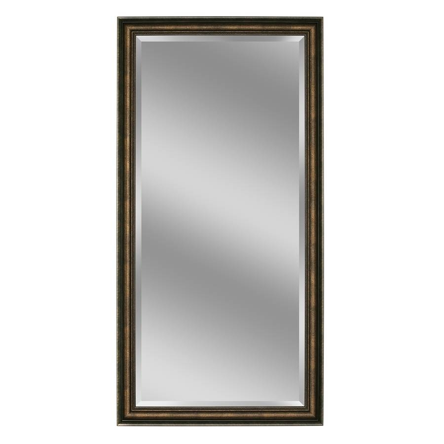 Shop Mirrors & Mirror Accessories At Lowes Pertaining To Bevelled Mirrors Glass (View 25 of 25)