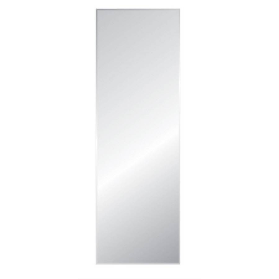 Shop Mirrors & Mirror Accessories At Lowes regarding Large Frameless Wall Mirrors (Image 24 of 25)