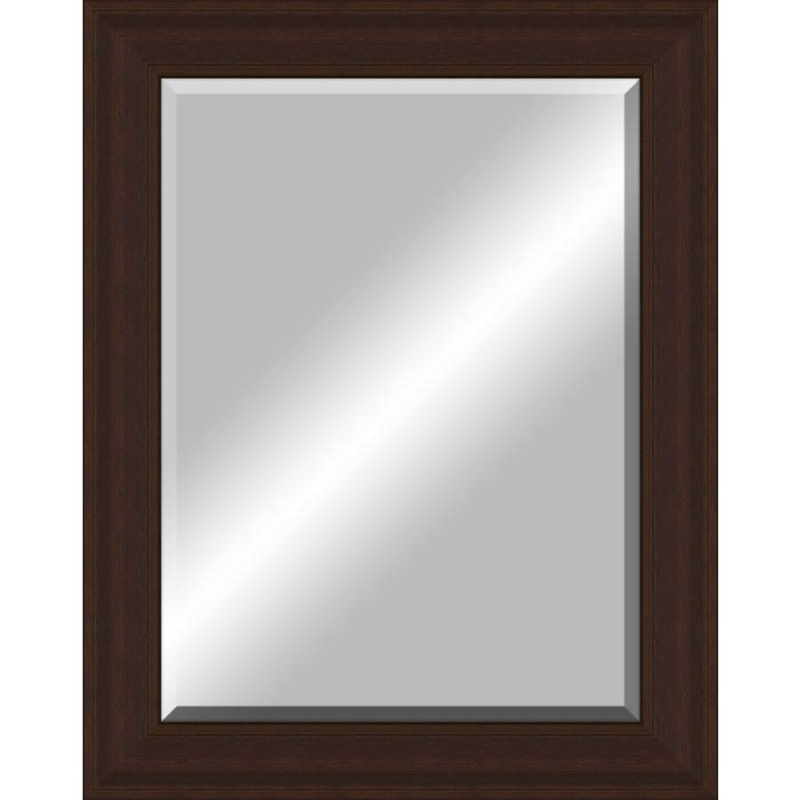 Shop Oil-Rubbed Bronze Rectangle Framed Wall Mirror At Lowes with regard to Bronze Wall Mirrors (Image 20 of 25)