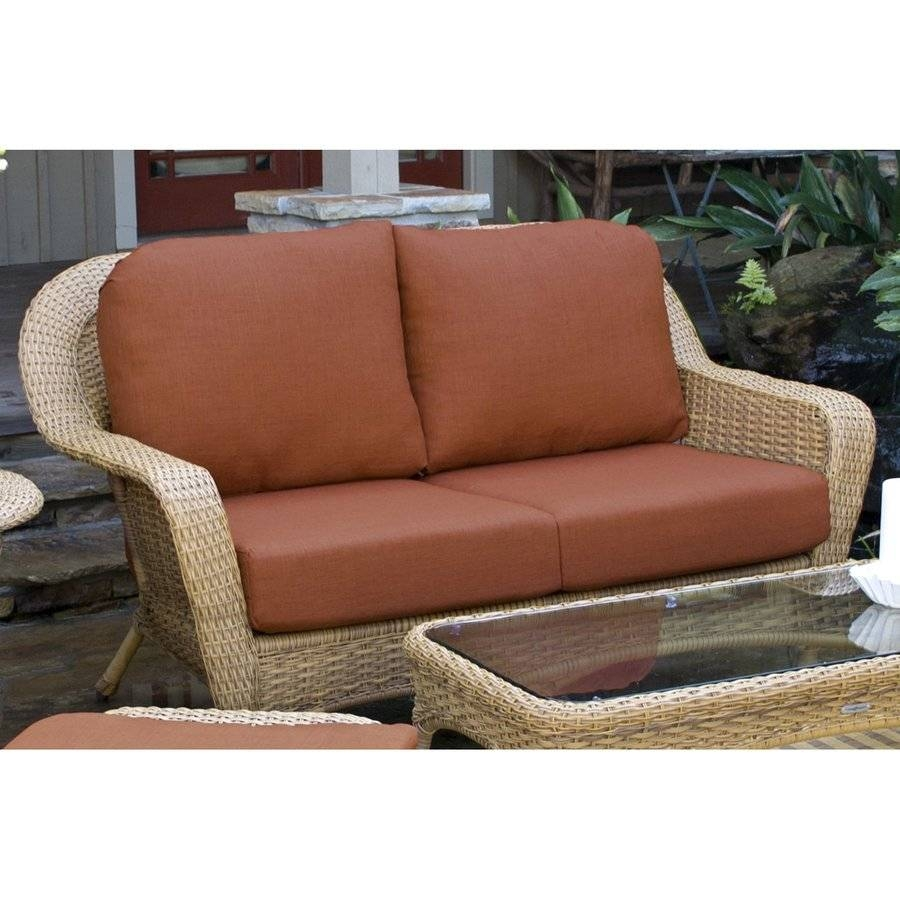Shop Patio Sofas & Loveseats At Lowes Regarding Sofas And Loveseats (View 16 of 30)