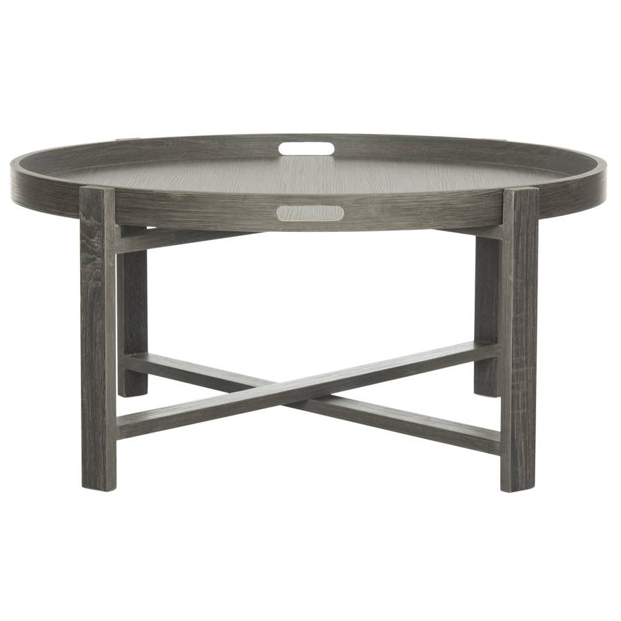 Shop Safavieh Cursten Round Coffee Table At Lowes in Safavieh Coffee Tables (Image 26 of 30)
