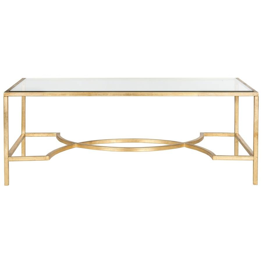 Shop Safavieh Inga Glass Coffee Table At Lowes in Safavieh Coffee Tables (Image 27 of 30)