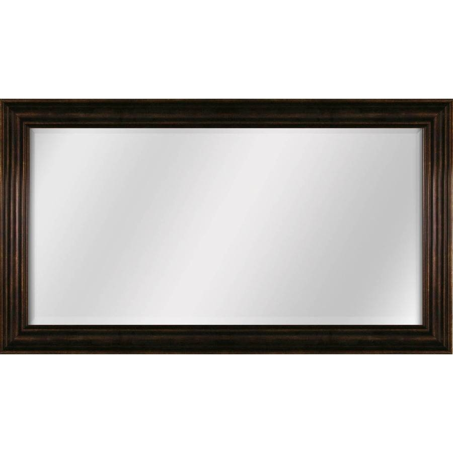 Shop Style Selections Bronze Beveled Wall Mirror At Lowes throughout Bronze Wall Mirrors (Image 22 of 25)