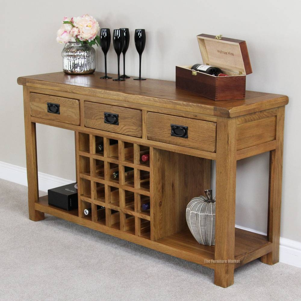 Sideboard Buffet With Wine Rack : Convert A Kitchen Cabinet In A pertaining to Sideboards With Wine Racks (Image 20 of 30)