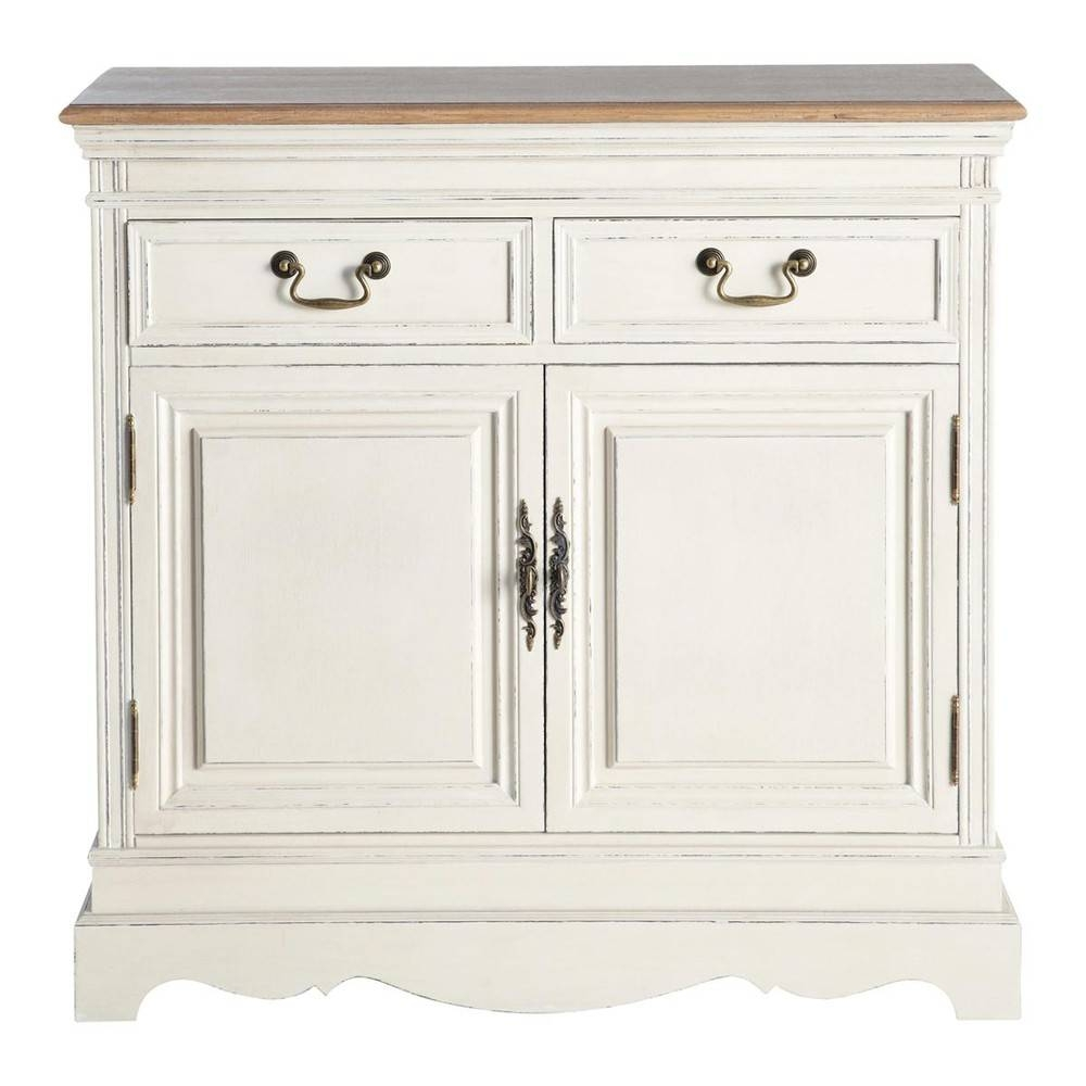 Sideboard In Cream W 90 Léontine | Maisons Du Monde intended for Cream Sideboards (Image 19 of 30)