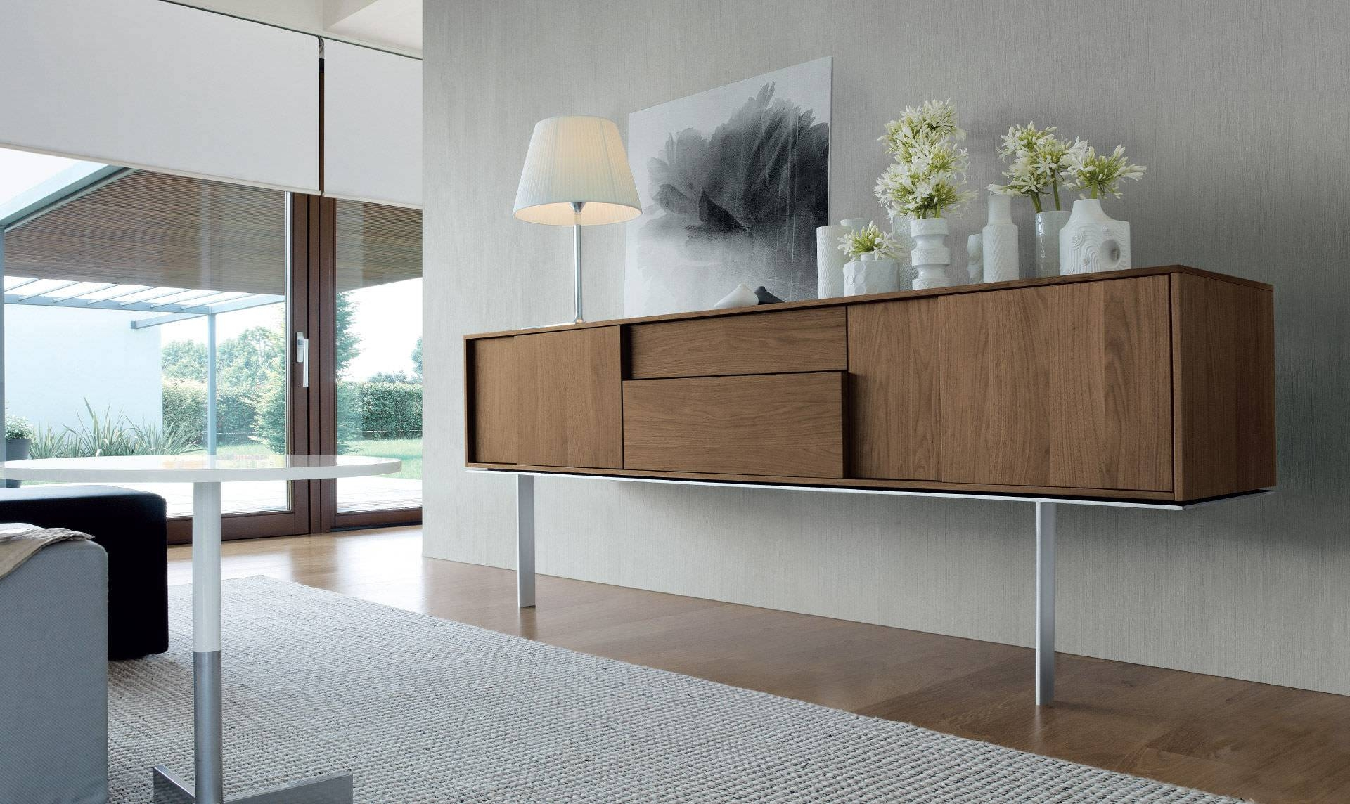 Sideboard With Long Legs / Contemporary / Wooden - Framesergio in Contemporary Wood Sideboards (Image 22 of 30)