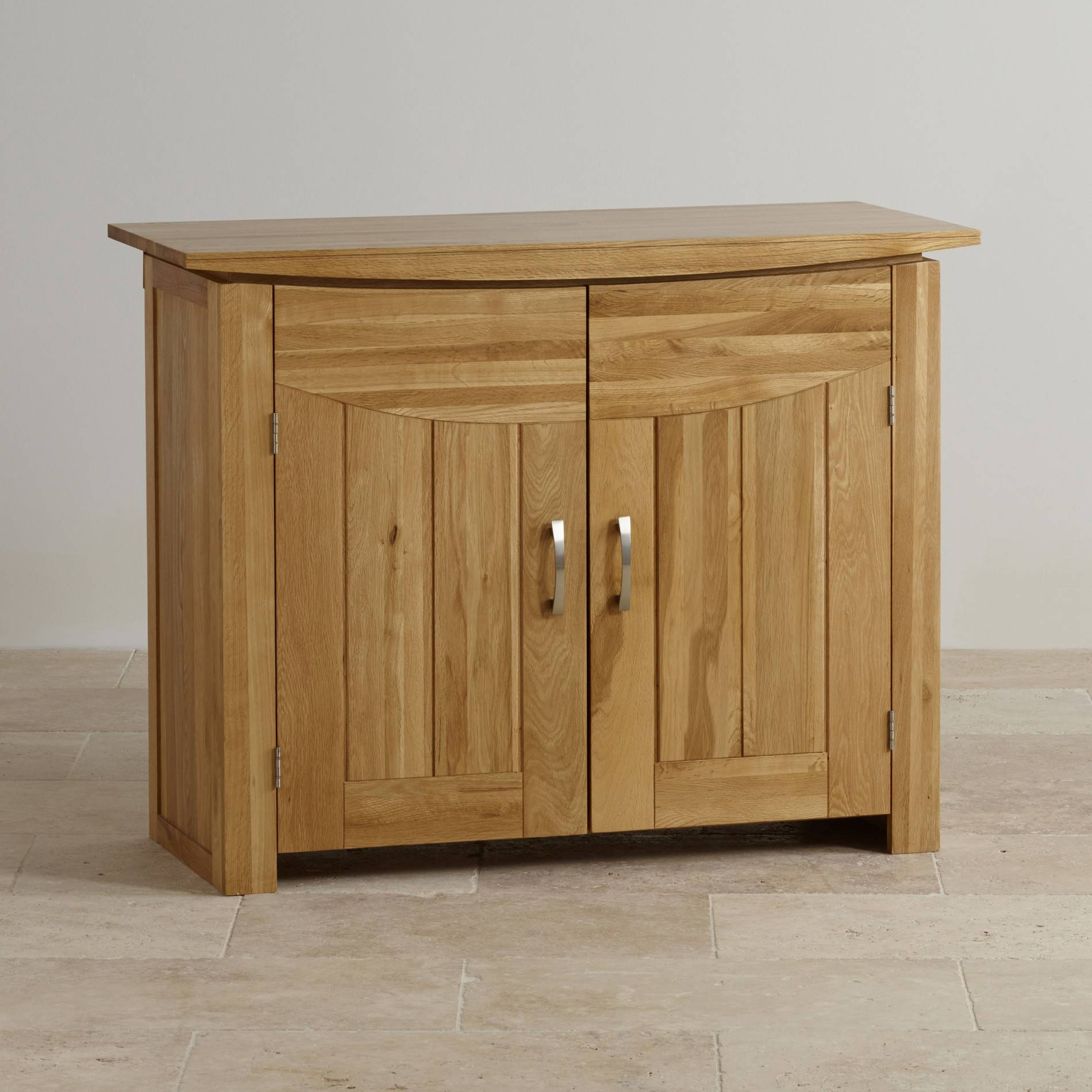 Sideboards | 100% Solid Hardwood | Oak Furniture Land inside Light Oak Sideboards (Image 18 of 30)