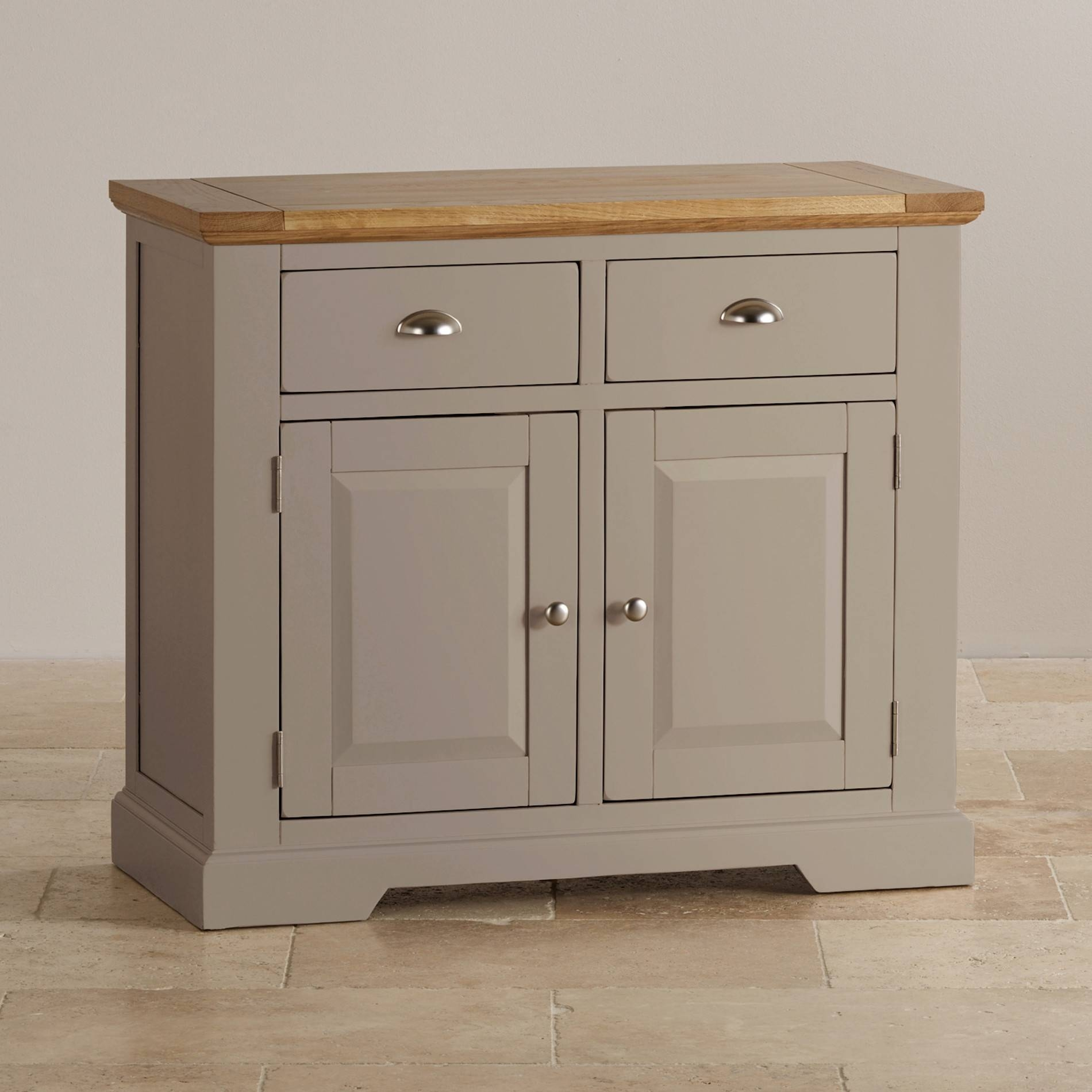Sideboards | 100% Solid Hardwood | Oak Furniture Land within Small Sideboard Cabinets (Image 17 of 30)