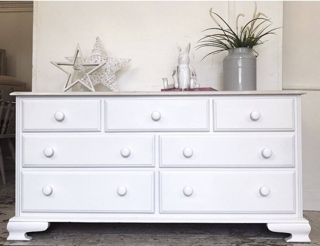 Sideboards: 2017 Second Hand Dressers And Sideboards Sideboards regarding White Sideboards For Sale (Image 27 of 30)