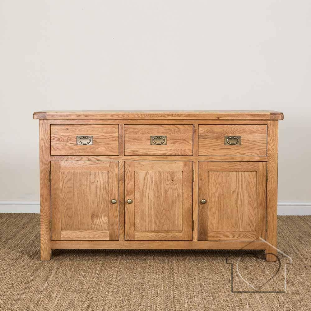 Sideboards - A Great Range Of Sideboards From Listers Interiors inside Oak Sideboards (Image 22 of 30)
