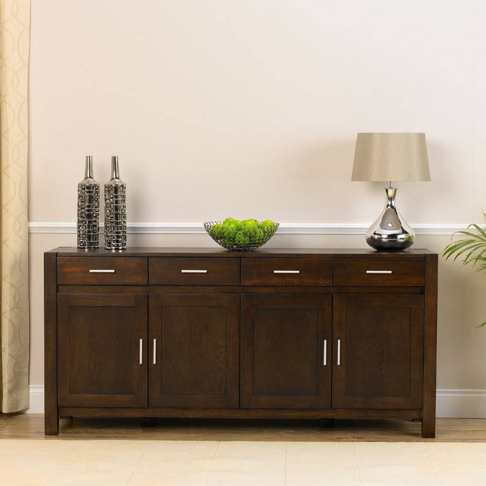 Sideboards. Amazing Cheap Sideboards 2017 Collection: Cheap regarding Small Dark Wood Sideboards (Image 11 of 30)