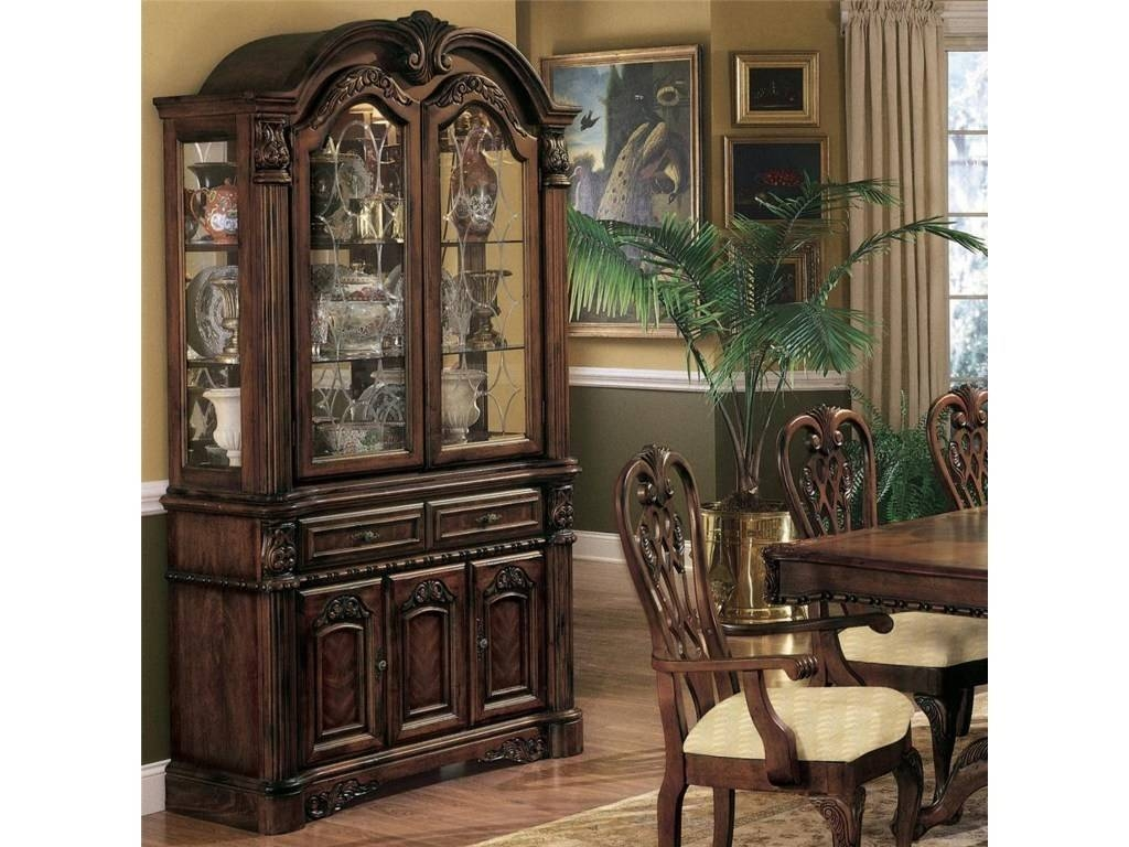 Sideboards. Amazing China Buffet Cabinet: China-Buffet-Cabinet within Curved Sideboards (Image 13 of 30)