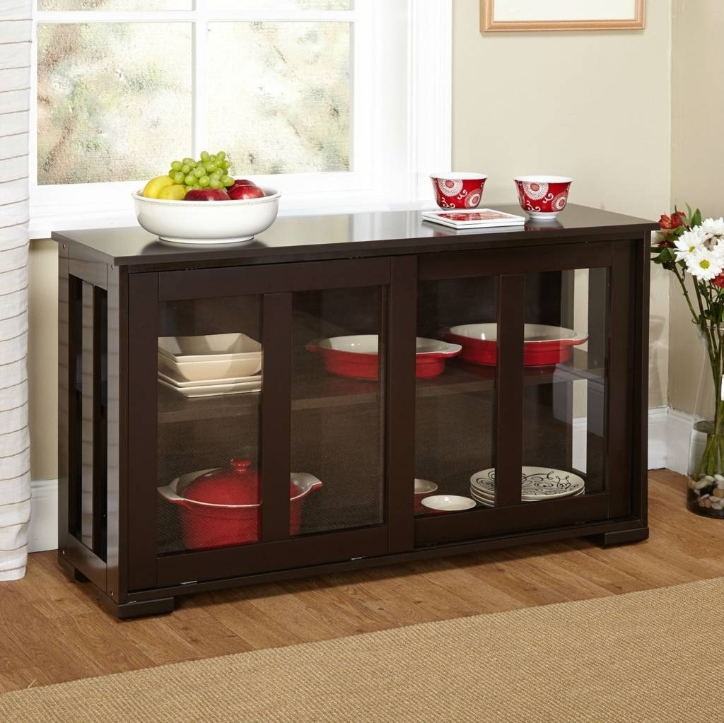 Sideboards. Amazing Espresso Buffet Table: Espresso-Buffet-Table pertaining to Unusual Sideboards (Image 21 of 30)