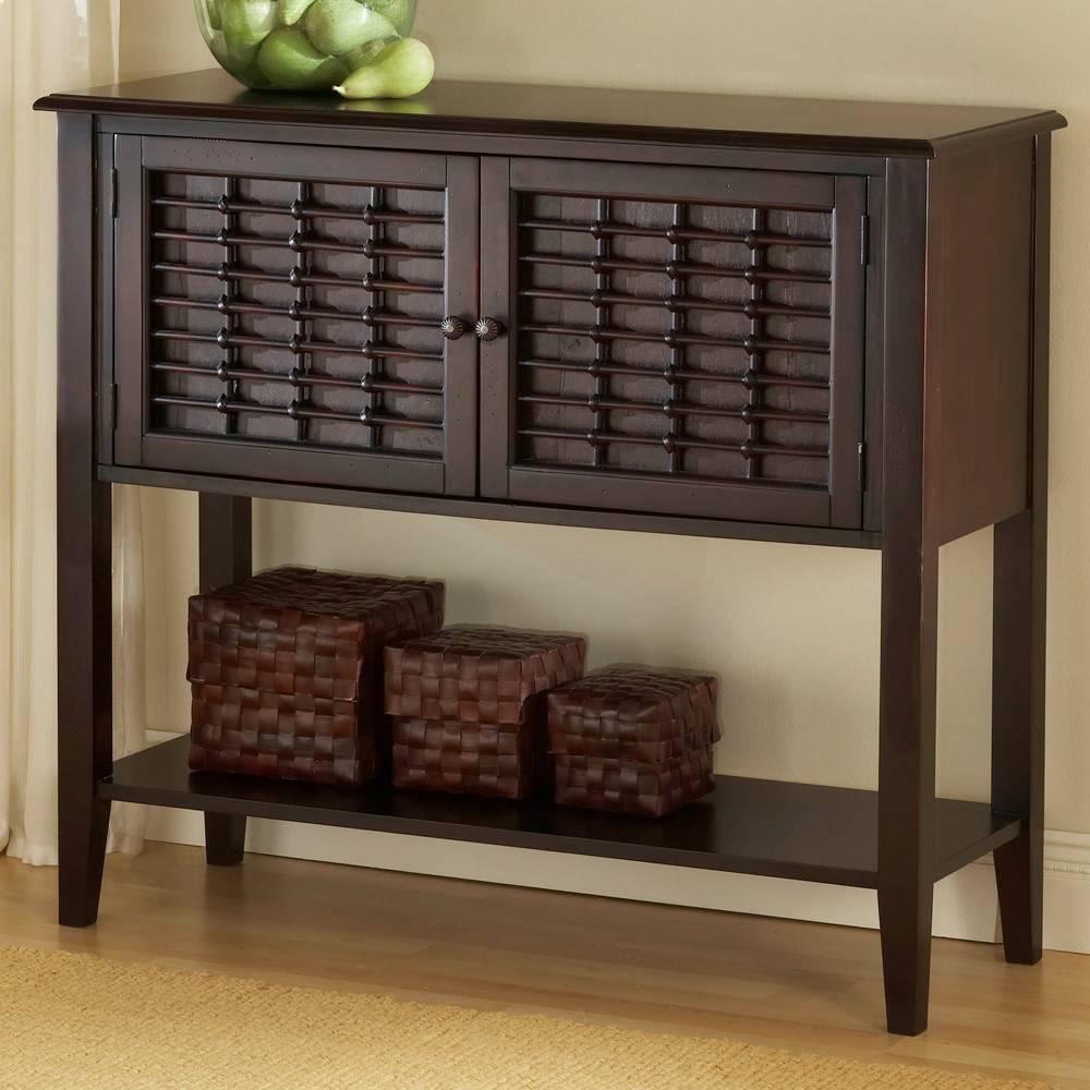Sideboards. Amusing Dark Wood Sideboard: Dark-Wood-Sideboard-Dark inside Dark Sideboards Furniture (Image 19 of 30)