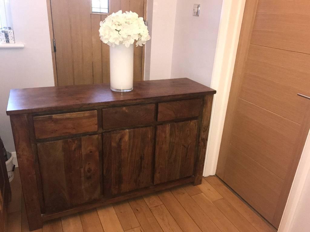 Sideboards: Amusing Dark Wood Sideboard Dining Room Buffets in Dark Sideboards (Image 18 of 30)