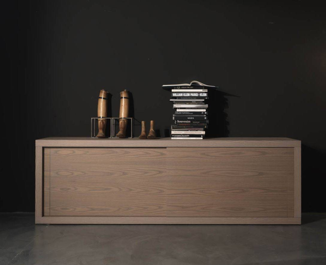 Sideboards: Amusing Modern Sideboard Buffet Contemporary Credenza for Contemporary Wood Sideboards (Image 27 of 30)