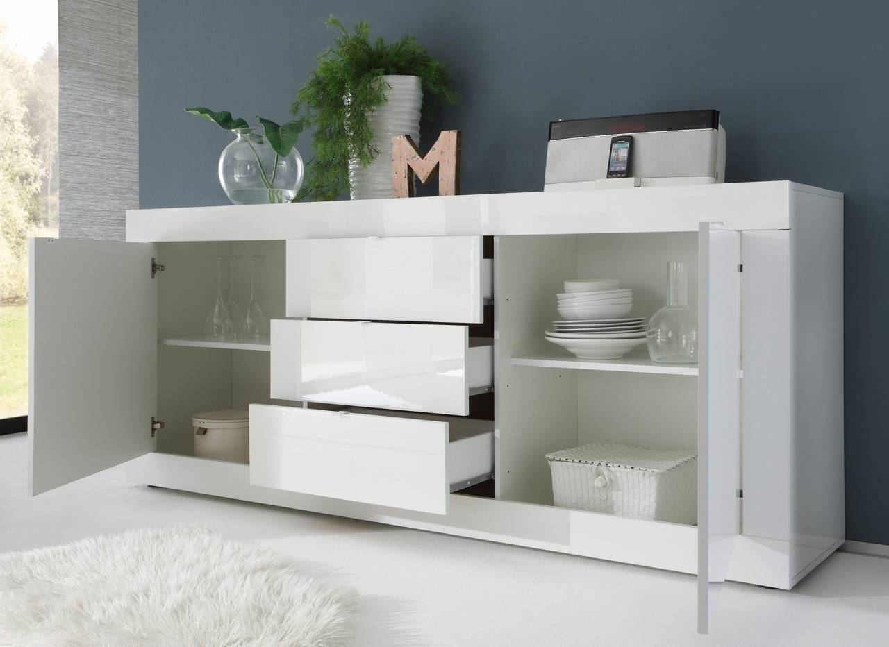 Sideboards. Amusing Modern Sideboard Buffet: Modern-Sideboard regarding White Modern Sideboards (Image 24 of 30)