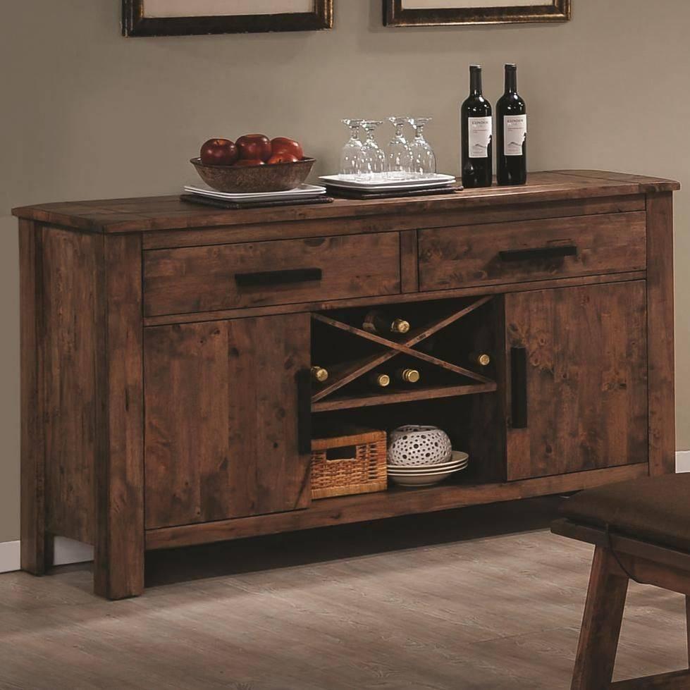 Sideboards. Amusing Rustic Buffet Furniture: Rustic-Buffet for Dark Sideboards Furniture (Image 21 of 30)